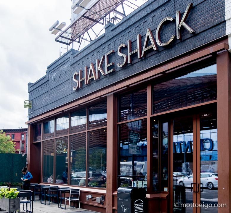 ブルックリン Shake Shack外観